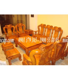 Bàn ghế bằng gỗ gõ đỏ