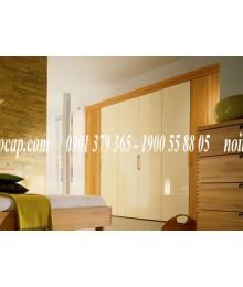 Tủ âm tường bằng gỗ Lim