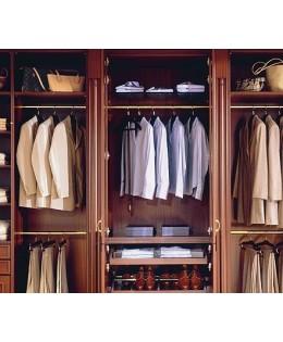 Tủ áo bẳng gỗ gõ đỏ