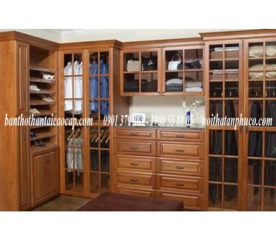 Tủ áo bằng gỗ căm xe