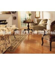 Sàn gỗ bằng gỗ gõ đỏ