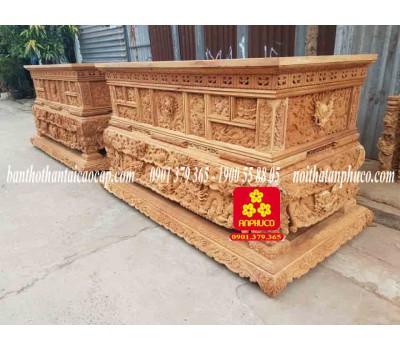 Sập thờ bằng gỗ Gõ đỏ