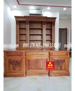 Bàn ,tủ phòng  làm việc gỗ Cẩm Lai đẳng cấp
