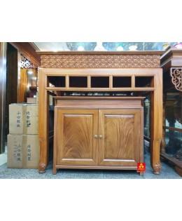 Bộ bàn thờ hiện đại gỗ Gõ đỏ 133