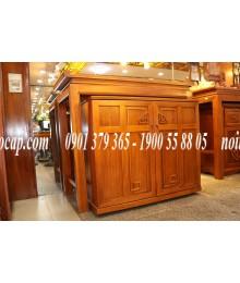 Bộ bàn thờ mẹ con bằng gỗ Gõ Đỏ đẹp