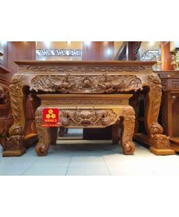Sập thờ Hồng Hạc gỗ Gõ đỏ 212
