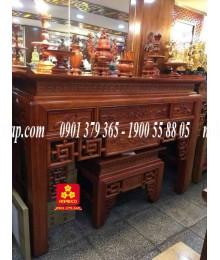 Bộ bàn thờ  gỗ Hương NP 197