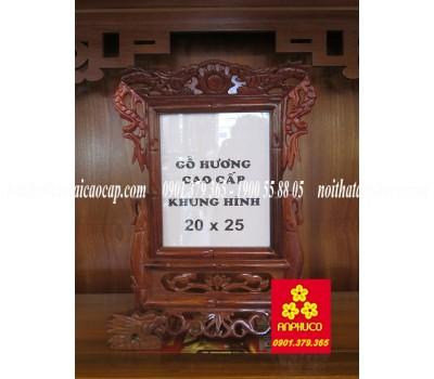 Khung Hình gỗ hương cao cấp 20 x 25