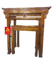 Bàn thờ kiểu gỗ Chàm bông vàng 127
