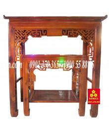 Bàn thờ gỗ Chàm bông vàng cao cấp 127