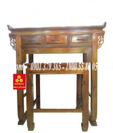 Bàn thờ gỗ chàm cao cấp 127