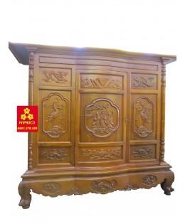 Bàn thợ gỗ gụ đẹp 153