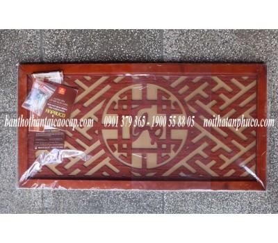 Tấm chống khói chữ Thọ thư pháp