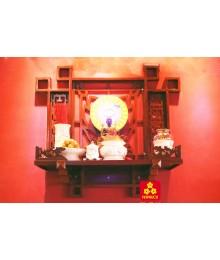 Mẫu bàn thờ Phật bằng gỗ Căm xe 68