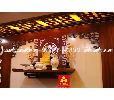 Bàn thờ Phật đẹp bằng gỗ tự nhiên