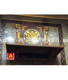 Bàn thờ treo tường gổ gõ đỏ(M-MT1GD.68.42.001)