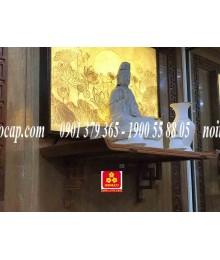 Bàn thờ treo tường gổ gõ đỏ(M-MT1GD.81.42.002)