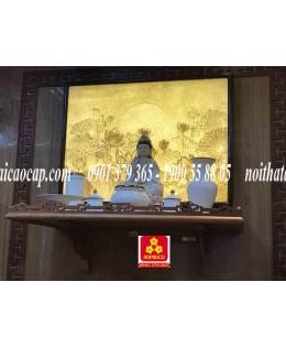Bàn thờ treo tường gổ gõ đỏ(M-MT1GD.88.48.001)
