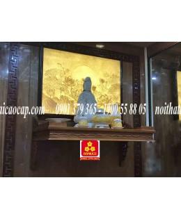 Bàn thờ treo tường gổ gõ đỏ(M-MT1GD.88.48.002)