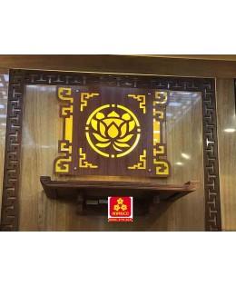 Bàn thờ treo tường gổ hương(M-MT1H.68.42.001)