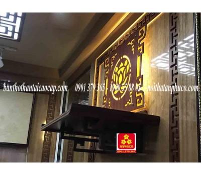 Bàn thờ treo tường gổ Giáng hương(M-MT1H.81.42.002)