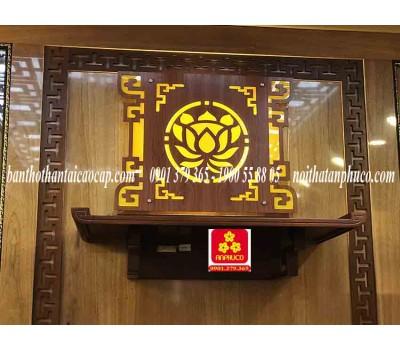 Bàn thờ treo tường gổ hương(M-MT1H.81.42.003)