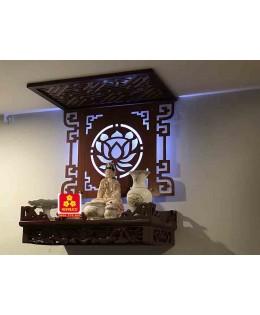 Bàn thờ treo tường gổ sồi(M-MT1S.61.42.002)
