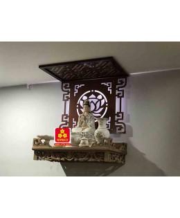 Bàn thờ treo tường gổ sồi(M-MT1S.61.42.005)