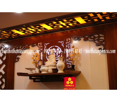 Bàn thờ Phật mẫu 2018