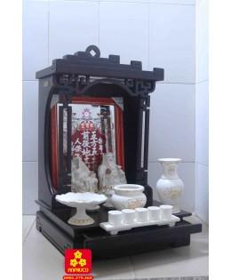 Mẫu bàn thờ Thần Tài Hưng Vượng