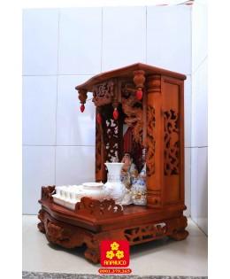 Bàn thờ thần tài kiểu truyền thống
