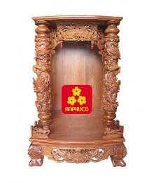 Tủ ông Địa gỗ Hương Vân