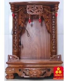 Bàn thờ Thàn Tài gỗ Hương