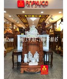Bàn thờ Thàn Tài gỗ Hương cao cấp