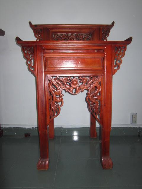 Đồ thờ cúng bằng gỗ Chàm