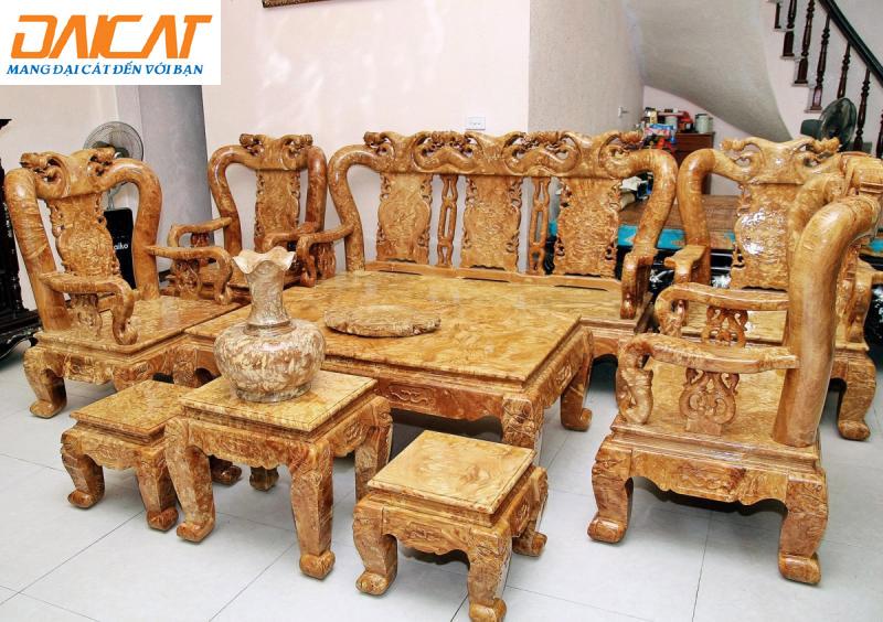 Đồ thờ cúng bằng gỗ Nghiến