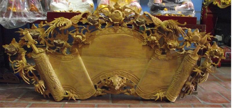 Đồ thờ cúng bằng gỗ mít